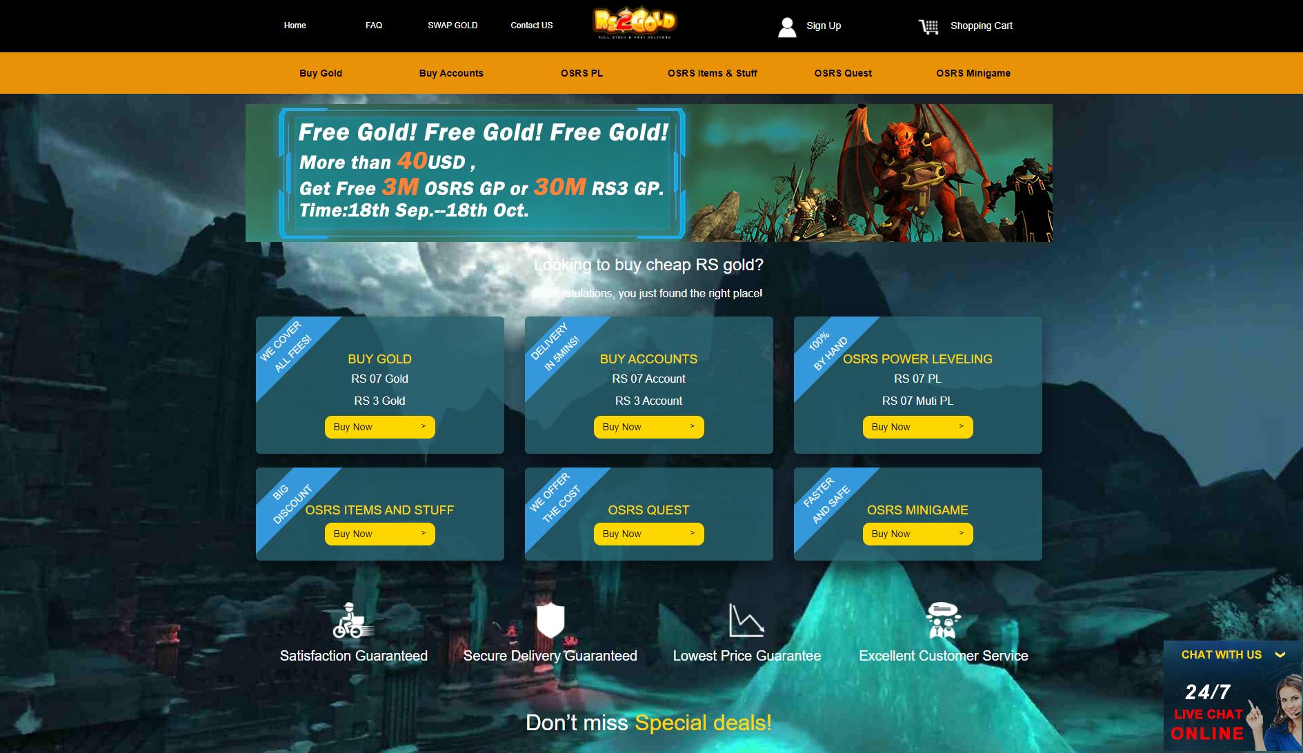 rs2gold website